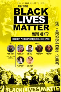 BLM Event Poster